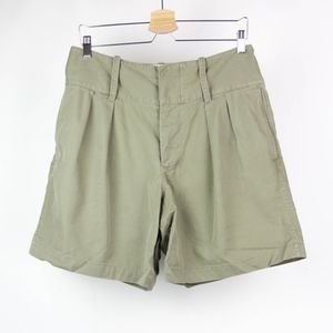 Rugby Shorts High Waisted Pleated Ralph Lauren